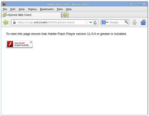to view this page ensure that adobe flash player version 11 5 0 or greater is installed