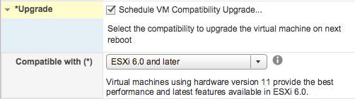 vHW11 - upgrade